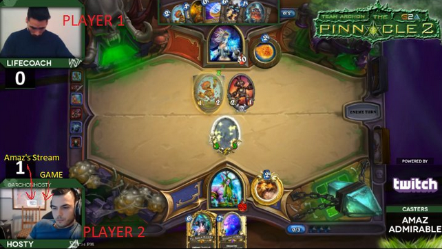 Hearthstone pro dropped by team for alleged stream sniping