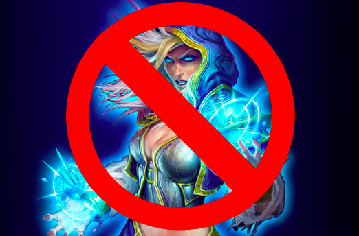 Idiots exclude women from international Hearthstone competition