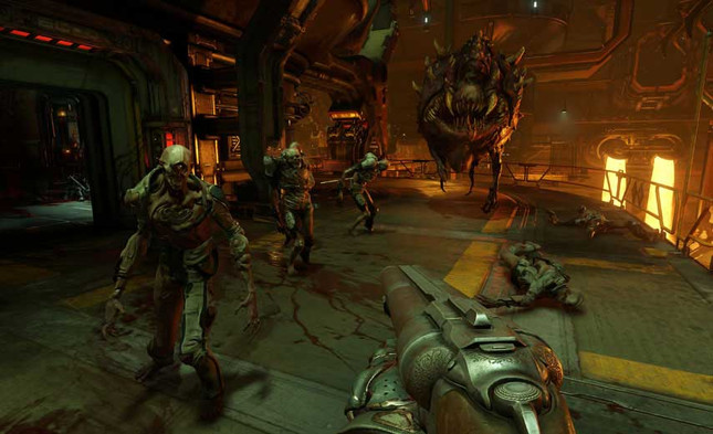 New Doom is all about speed
