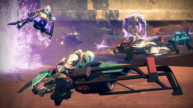 Destiny's The Dawning event brings back Sparrow Racing