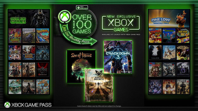 Xbox Game Pass to add Xbox exclusives the day they launch