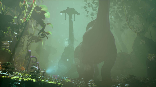 Planet Alpha looks like Abe's Oddysee crossed with No Man's Sky