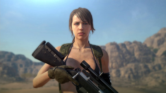 Metal Gear Solid 5 Lets You Play as Quiet in FOB Missions