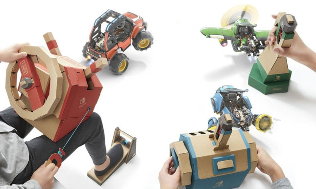 Nintendo gets a need for speed with its latest Labo kit