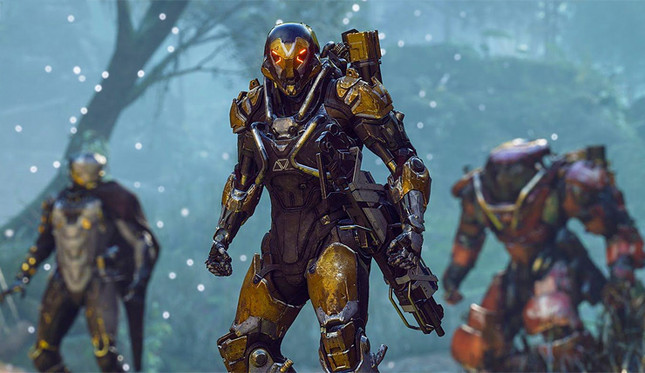 New Anthem gameplay shows off Lost Arcanist level