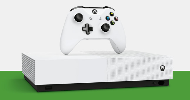 Microsoft unveil Xbox One S All-Digital Edition