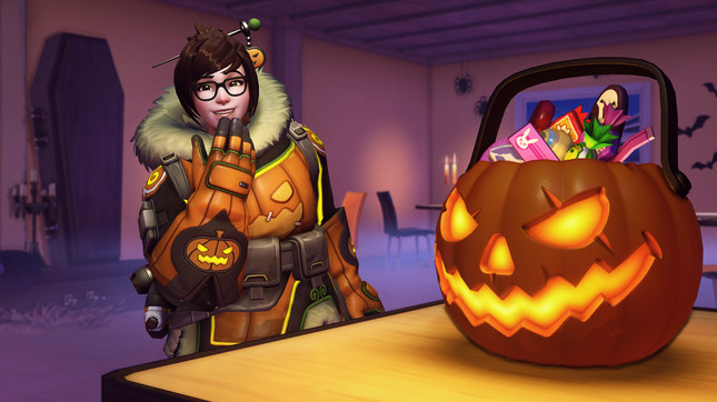Overwatch Halloween Terror 2018 live now