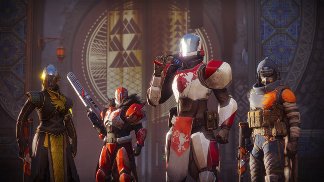 Destiny 2's console framerate is due to its complex world