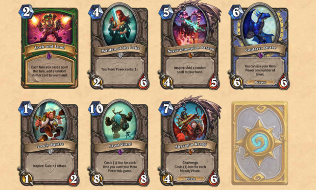 Hearthstone's next expansion adds 132 cards, Inspire ability