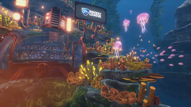 Rocket League's latest DLC is totally not set in Rapture