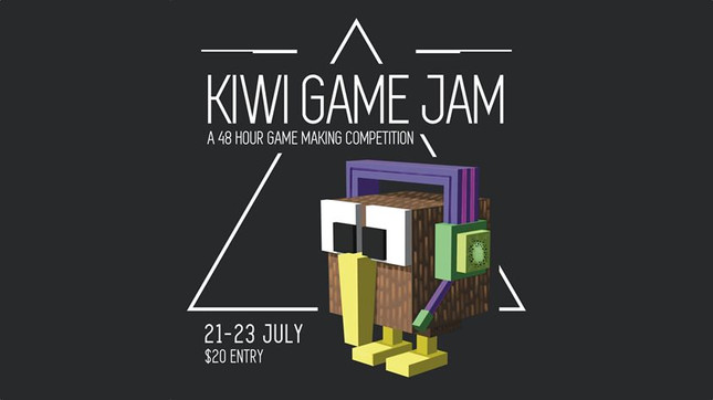 Game creation competition KiwiJam runs July 21-23