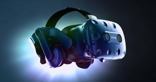 Vive VR unveils shiny new Pro headset, wireless adapter