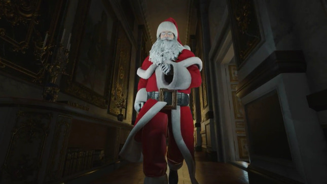 Hitman spoofs Home Alone in special Christmas mission