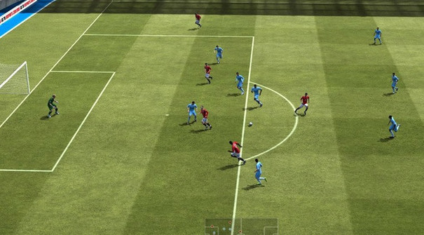 FIFA 14 on handheld is just a reskinned FIFA 13