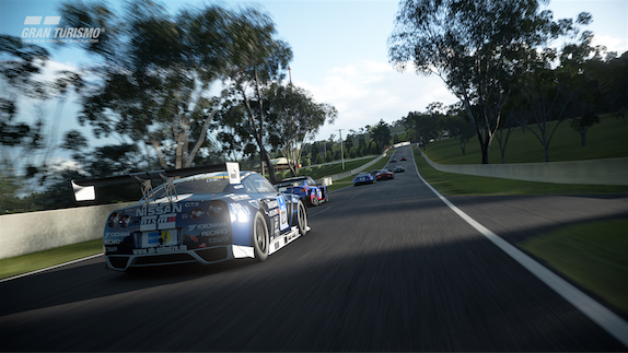 Bathurst's iconic Mount Panorama circuit is in Sony racer GT Sport