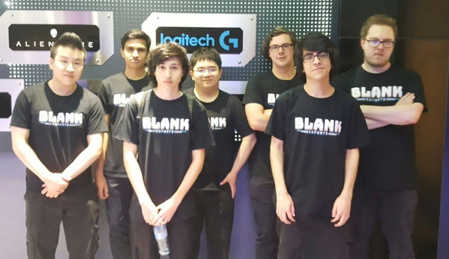 Blank Esports finishes second in the Overwatch Pacific Championships in Taiwan