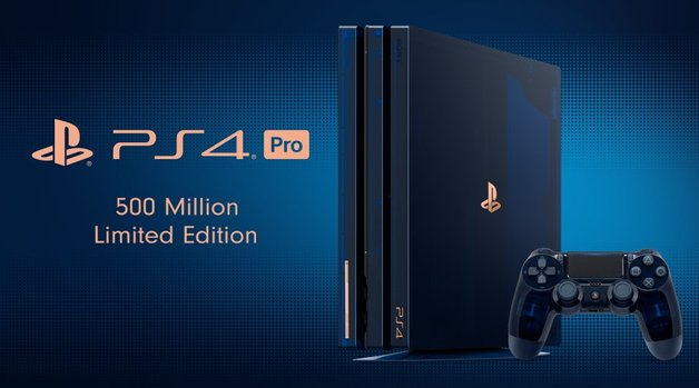 Sony to release limited-edition PS4 in celebration of 500 million sales