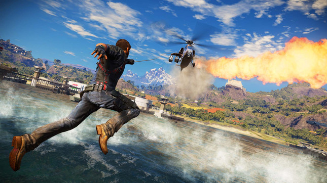 Here's the first hour of Just Cause 3