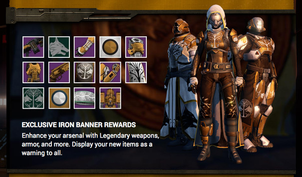 Destiny's Iron Banner event removes PvP balancing