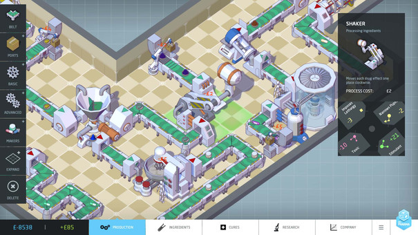 Big Pharma is a management sim that could be the next Theme Hospital