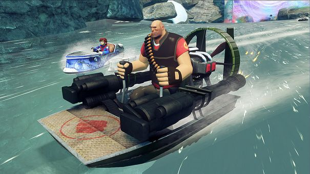 Sonic & All-Stars Racing Transformed on PC will feature Team Fortress 2, Total War characters