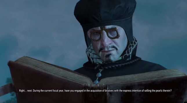 The Witcher 3's taxman tells exploiters how it will be