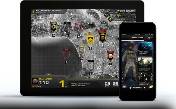 Call of Duty: Ghosts mobile app, Clan Wars detailed