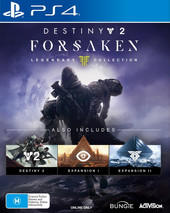 Destiny 2: Forsaken box art
