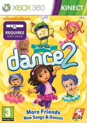 Nickelodeon Dance 2 box art