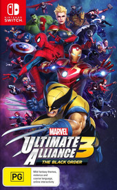 Marvel Ultimate Alliance 3: The Black Order Review box art