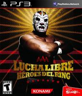 Lucha Libre AAA: Heroes of the Ring box art