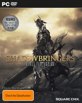 Final Fantasy XIV: Shadowbringers box art