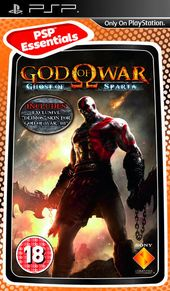 God of War: Ghost of Sparta box art