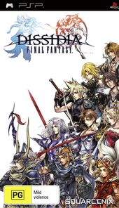 Dissidia Final Fantasy box art