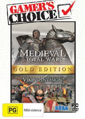 Medieval: Total War Gold Edition box art