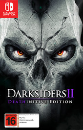 Darksiders 2: Deathinitive Edition box art