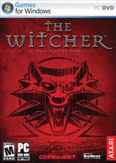 The Witcher box art