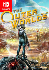 The Outer Worlds box art