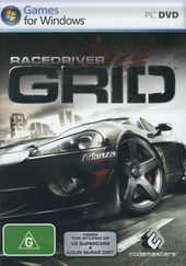 Race Driver GRID box art
