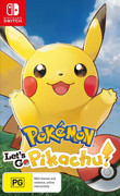 Pokemon: Let's Go, Pikachu! box art