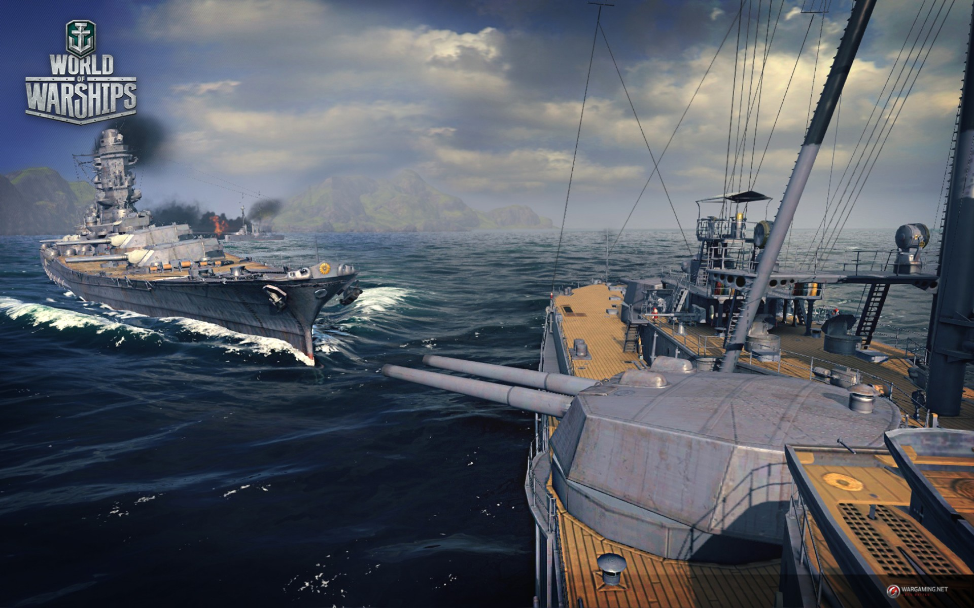 World of Warships hands-on - PC Image at Gameplanet New Zealand