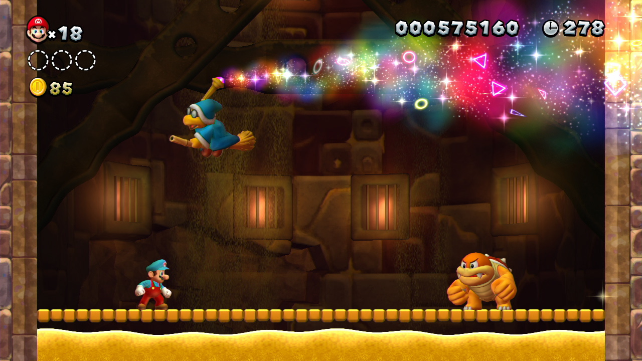 New Super Mario Bros  U review - Wii U Image at Gameplanet