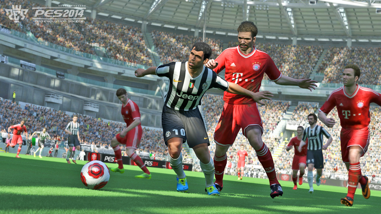 Pro evolution soccer 2014 review image at gameplanet new zealand.
