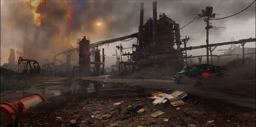 Avalanche releases stunning Mad Max screens, concept art