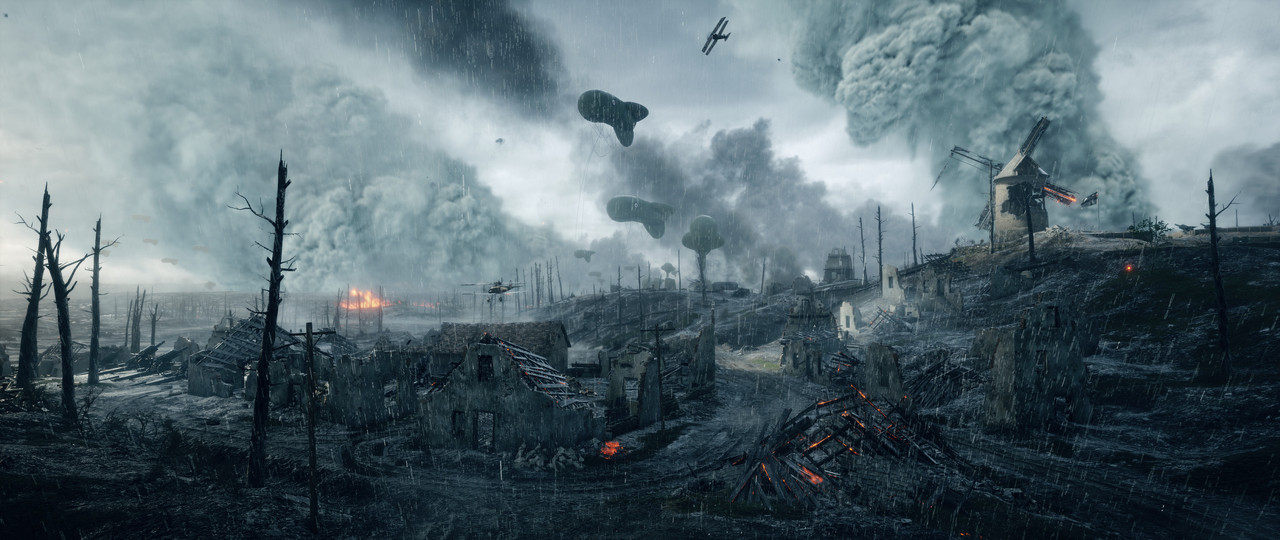 Battlefield 1 looks gorgeous in spectator mode