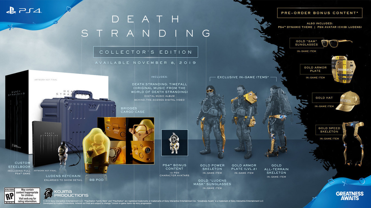 Death Stranding release date confirmed for November 8