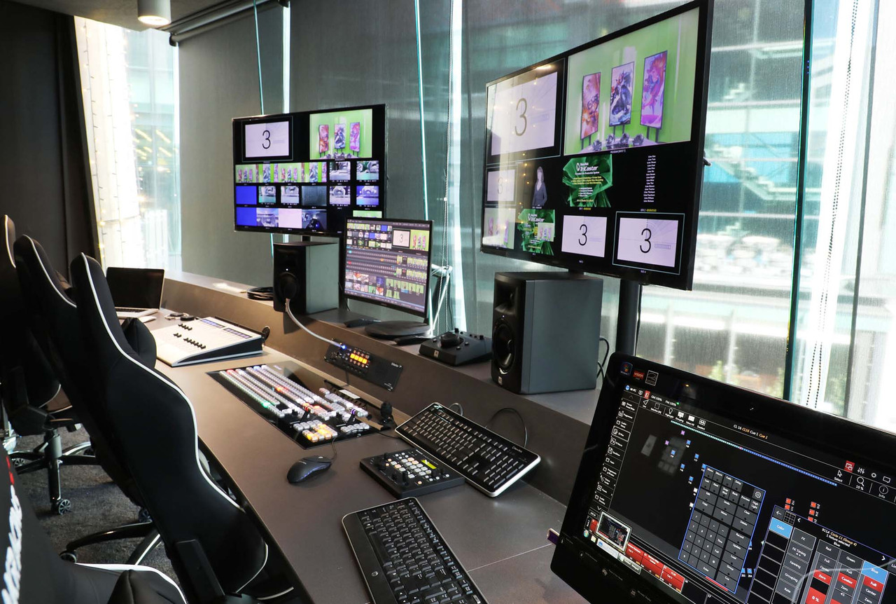 Auckland's Sky Tower now houses Australasia's first direct-to-television esports studio