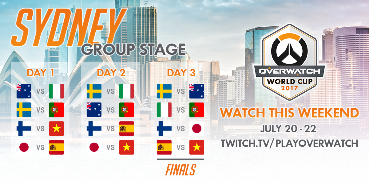 Overwatch World Cup Sydney primer