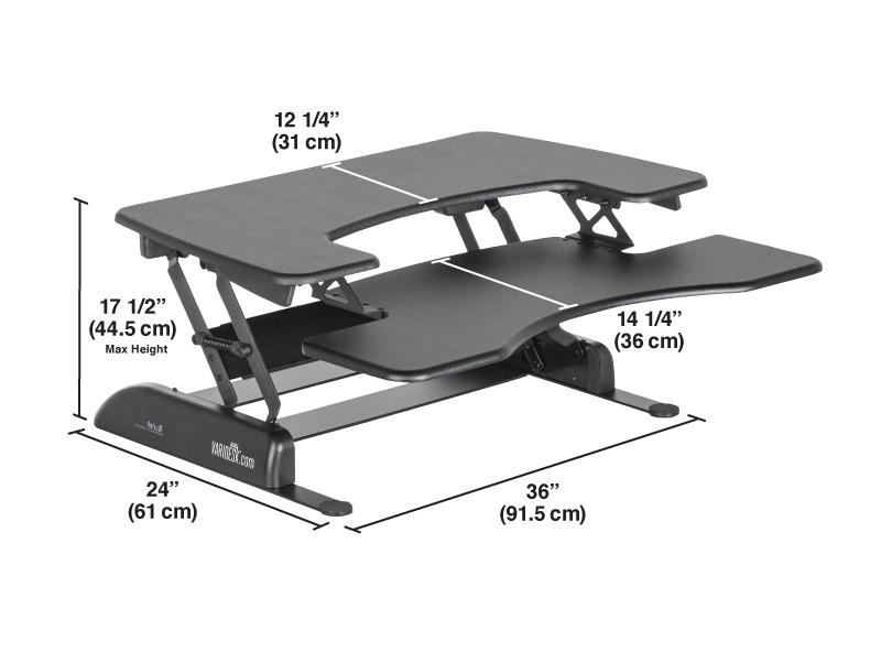 VariDesk Pro Plus 36 & Dual Monitor Arm Review
