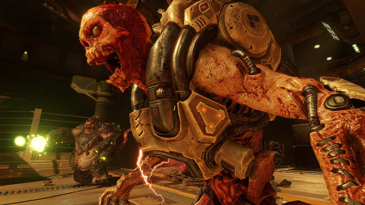 Check out the Cacodemon and Cyberdemon in these new Doom screens